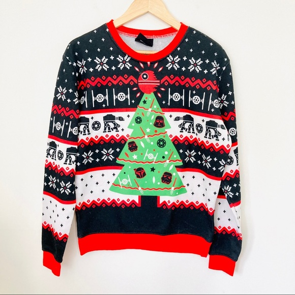 ThinkGeek Star Wars Empire Ugly Christmas Sweater